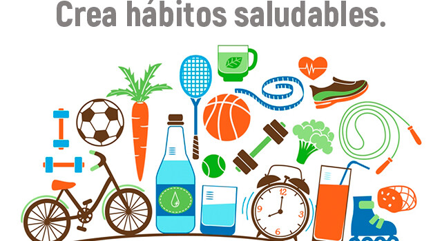 crea habitos saludables